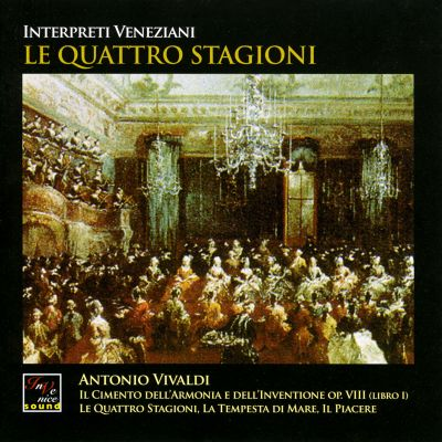 IVS 1004 - Vivaldi: Le Quattro Stagioni - Il Cimento Dell'Armonia E Dell'Inventione Op. VIII (Libro I)