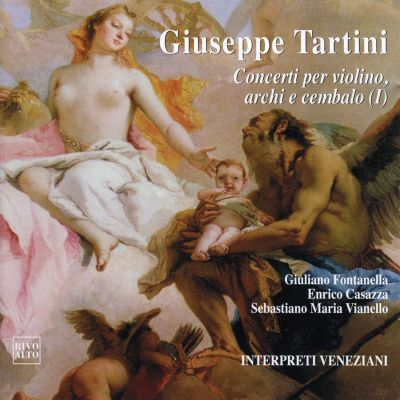 IVS 1010 - Tartini: Concerti Per Violino, Archi E Cembalo (I)